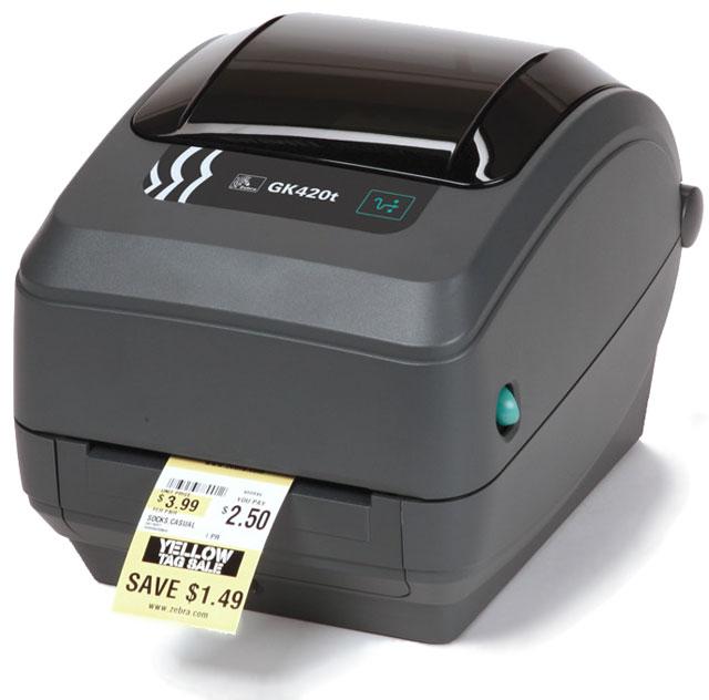 เครื่องพิมพ์บาร์โค้ด GK420T