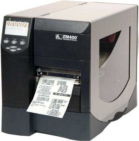 เครื่องพิมพ์บาร์โค้ด Zebra ZM-400