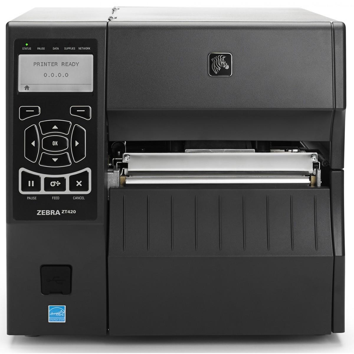 เครื่องพิมพ์บาร์โค้ด Zebra ZT420