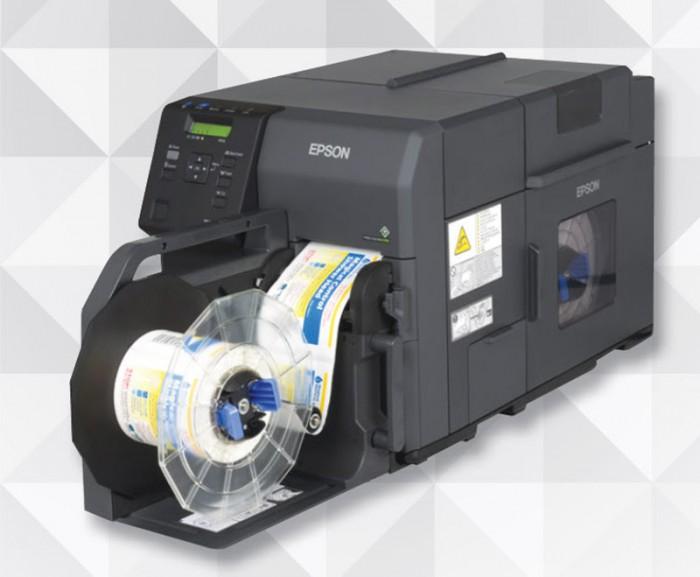 เครื่องพิมพ์ฉลากสี Epson C7510G