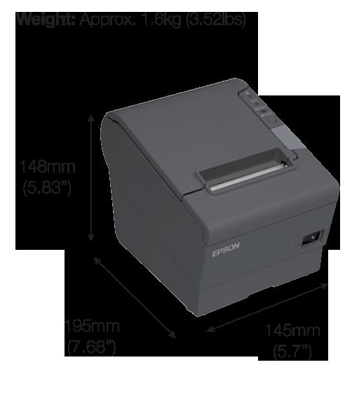 เครื่องพิมพ์ใบเสร็จ Epson TM-T82
