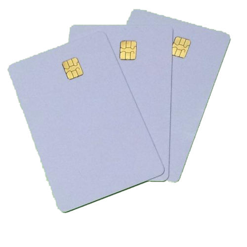 Smart Card บัตรสมาร์ตคาร์ดขาว ชิป SLE4442