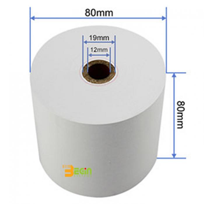 กระดาษความร้อน Thermal Paper 80x80